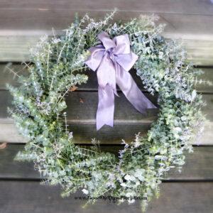 fresh eucalyptus wreath