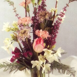 small garden vase