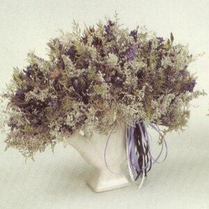 dried flower finger vase