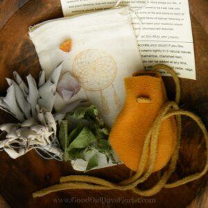 medicine bag gift set