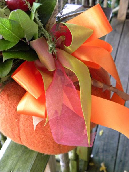 halloween flower bouquet